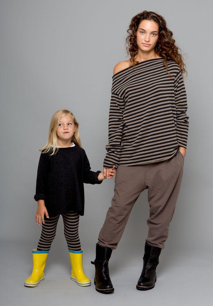 Fashion Fall Winter  2013-14 child mom mother woman