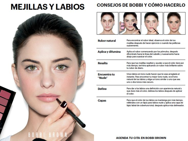 Del manual de Bobbi Brown