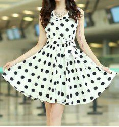 Chiffon Dresses | Cheap Black And White Chiffon Dresses For Women Online At Wholesale Prices | Sammydress.com