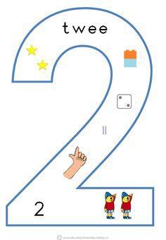 * Cijfersymbolen om in de klas te hangen   Beginnende gecijferdheid. 2-9