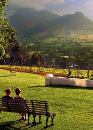 Paradise is found at this winery in South Africa!