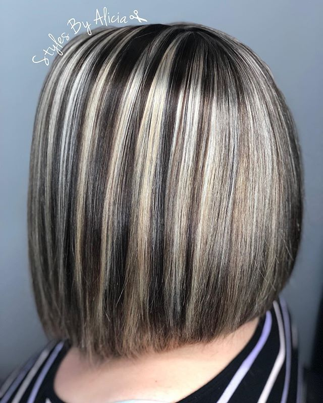 The 25 best chunky highlights ideas on pinterest chunky blonde websta stylesbyalicialynn client wanted to go dark and wanted chunky highlights all guytang pmusecretfo Choice Image
