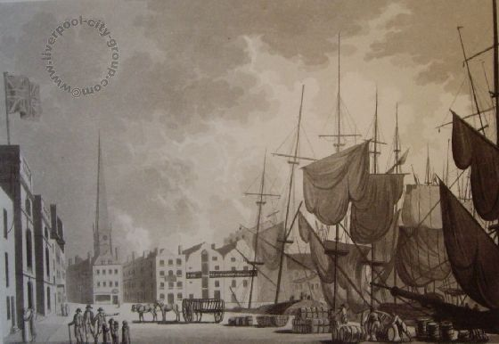 Liverpool, history docks,1799