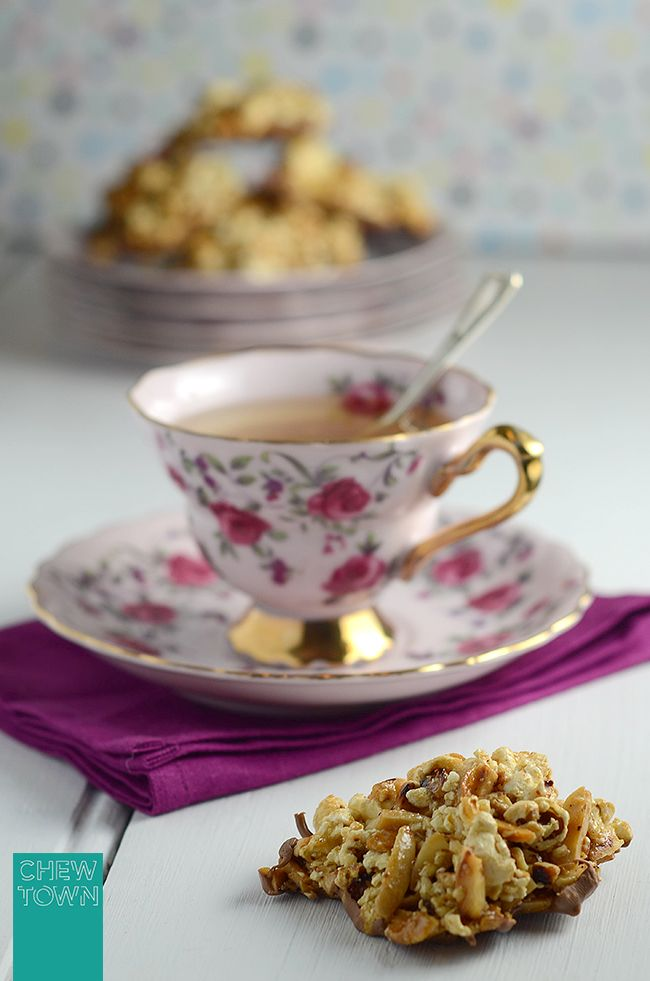Popcorn Florentines Recipe | Use a vegan butter and sweetener for vegan Yum!