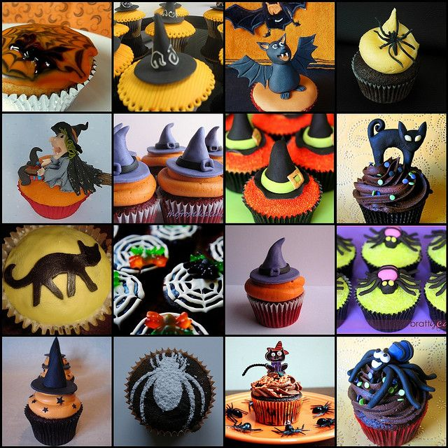 Halloween Cupcake Round up~ links to all these recipes