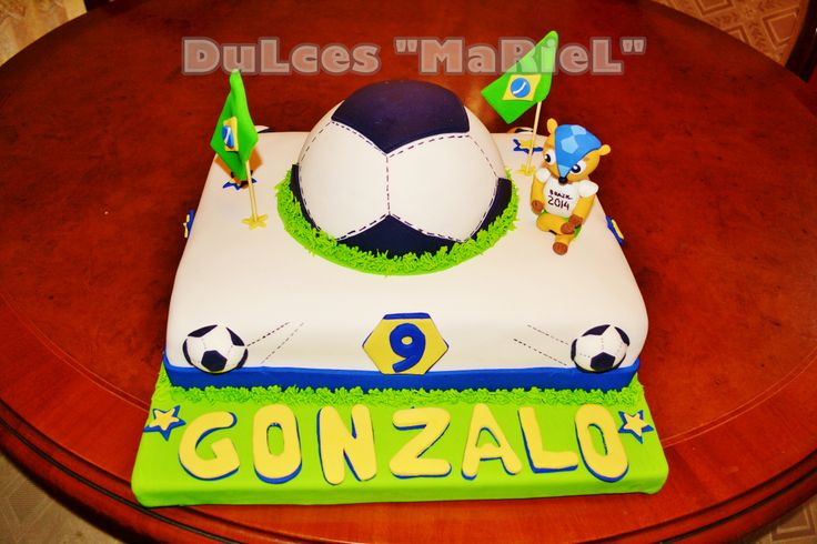 TORTAS EQUIPOS DE FUTBOL on Pinterest | Barcelona and Sports