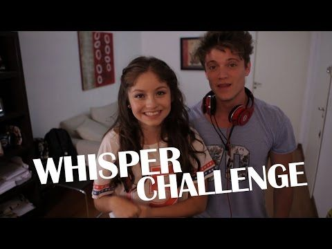 Karol Sevilla I Whisper Challenge con Lionel Ferro I #LioYKarol - YouTube