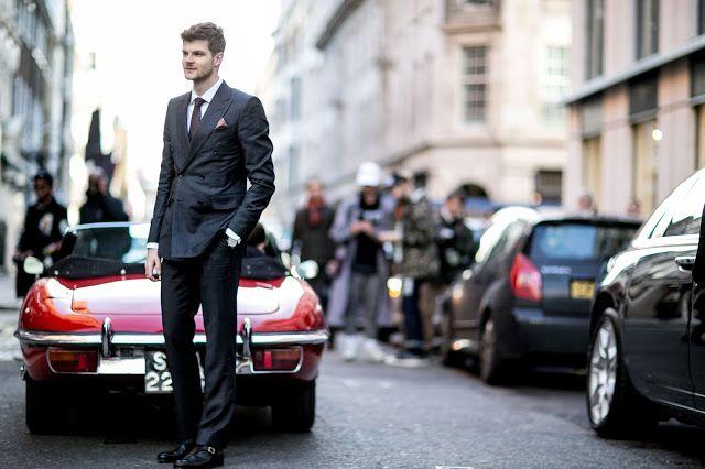 Um Raio De Sol Na Água Fria : Men In Style : London Collections Men Street Style...