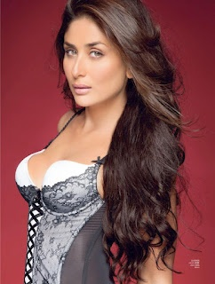 Kareena Kapoor's Hot Maxim Magazine Photoshoot Scans - September 2012.   Bollywood Cleavage