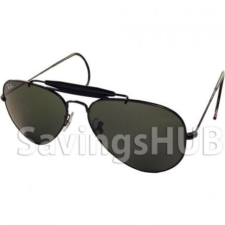 Ray-Ban Black Aluminum Clubmaster Sunglasses #rayban #fashion #glasses #style