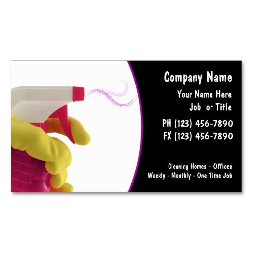Home Design Business Ideas: 137 Best House Cleaning Business Cards Images On Pinterest