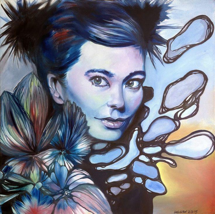 Linda Förstner ARTWORK: Björk Portrait