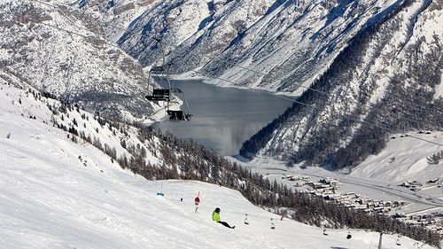 Livigno valley and lake our next winter sport location  winter season 2014-2015