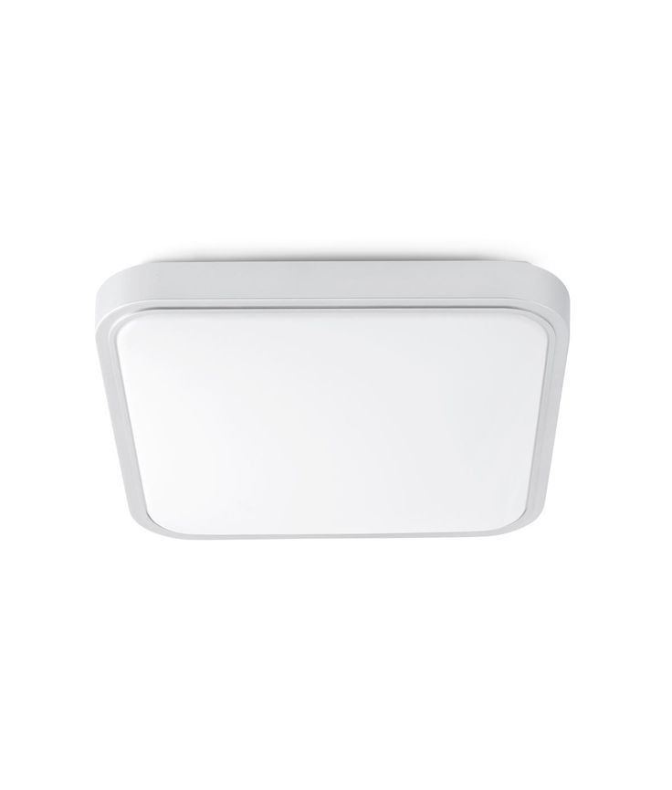 Plafón LED grande IRIS gris