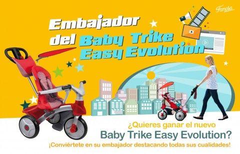 Embajador del Baby Trike Easy Evolution