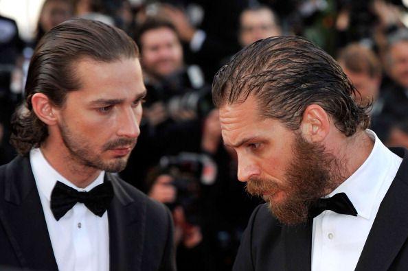 shia labouf and bearded tom hardy