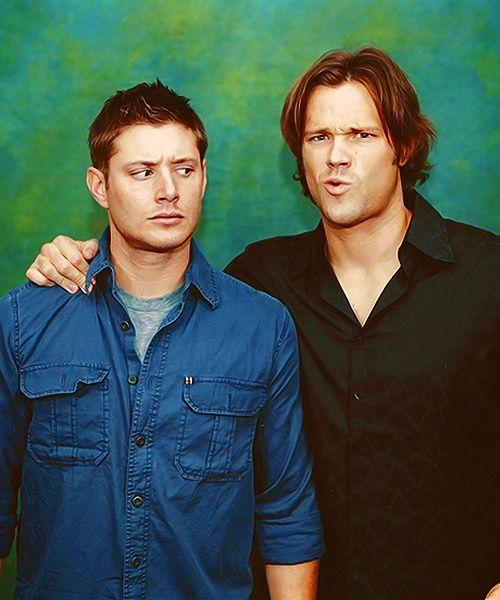 Cute confusion <3 #JensenAckles #JaredPadalecki