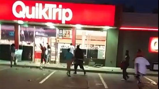 Video: Looting of Missouri Convience Store Caught On Cam - A Funny Video on KillSomeTime