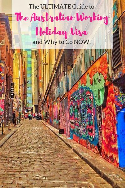 The Ultimate Guide to The Australian Working Holiday Visa and Why to Go NOW!  Check it out so you're in the know and definitely find out why coming sooner rather than later is a good idea.