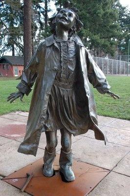 17 best images about pomniki on pinterest warsaw for Garden statues portland oregon