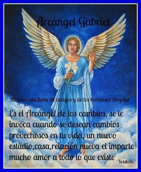 Arcangel Gabriel | Oraciones | Pinterest | Gabriel