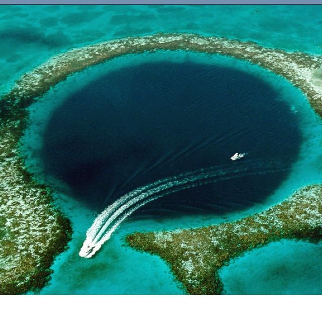 The Blue Hole. Beliz.