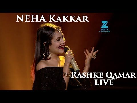 YouTube neha kakkar's live performance on the set of SA RE GA MA PA lil champs