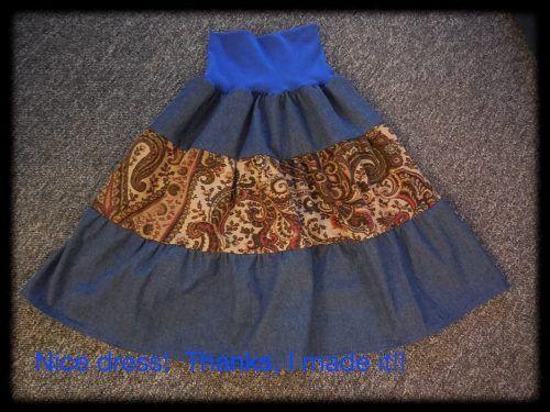 Easy Boho skirt