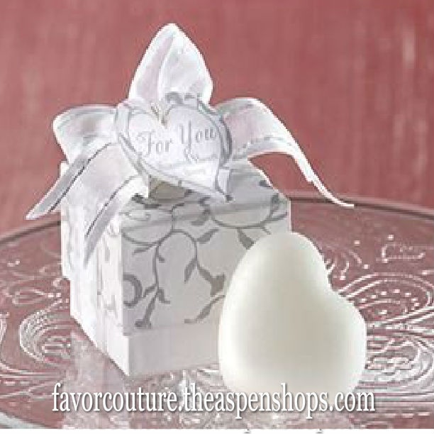 Sweet Heart Shaped Scented Soap Skin Care Wedding