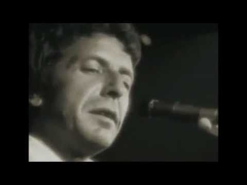 Leonard Cohen - Suzanne with story about song being stolen from him by a friend