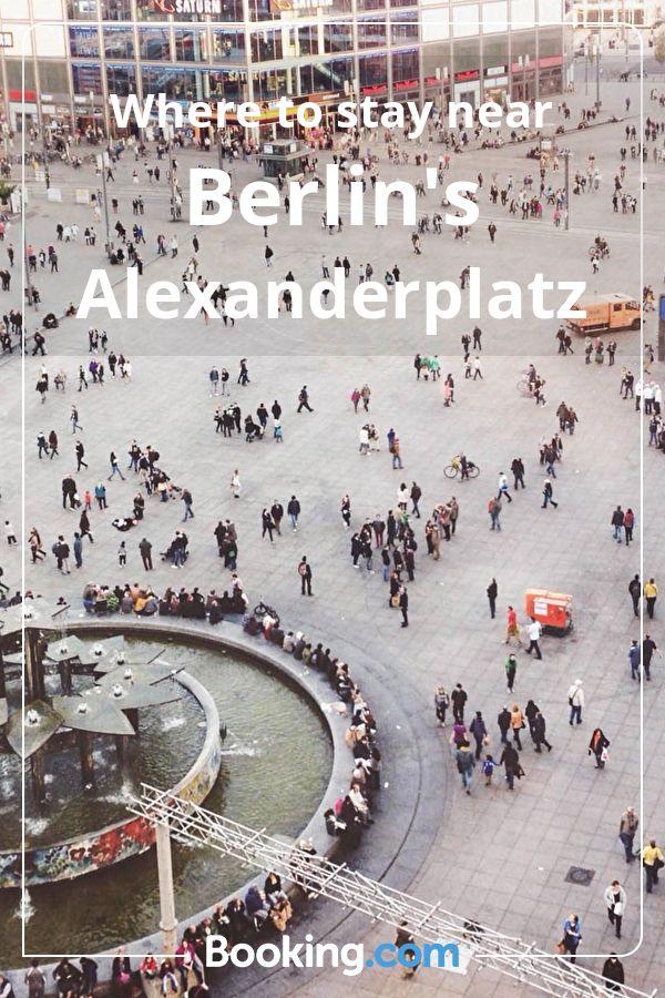 Where To Stay Near Berlin S Alexanderplatz Booking Com Berlin Berlin Germany Germany