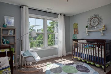 Nursery - Sherwin Williams Magnetic Gray | Sherwin ...