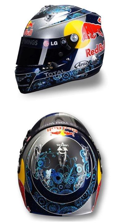 The Sebastian Vettel helmet series: Australian Grand Prix