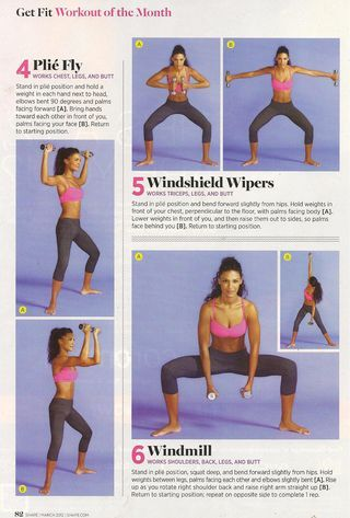 Booty Barre Workout -- Shape Magazine's workout of the month
