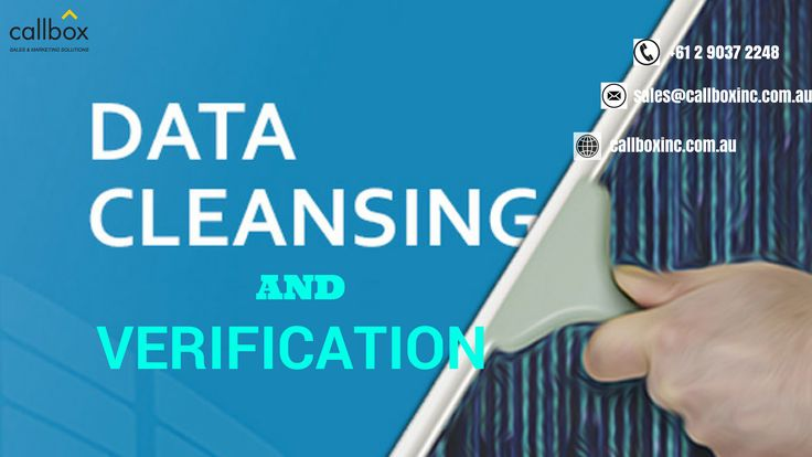 Clean data for better business results. Find out how our database cleaning and verification services can be of help.