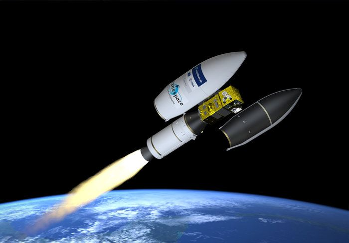 Space in Images - 2017 - 03 - Artist's impression of the fairing separation