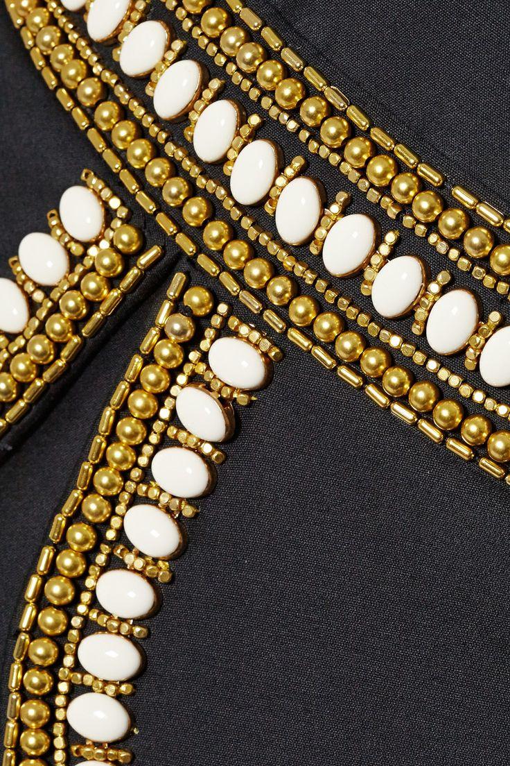 Sass & bide   The Cold Snap embellished cotton and silk-blend dress   NET-A-PORTER.COM