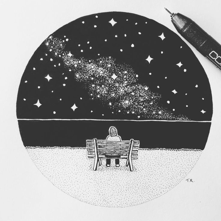 astronomy drawing tumblr - 640×622