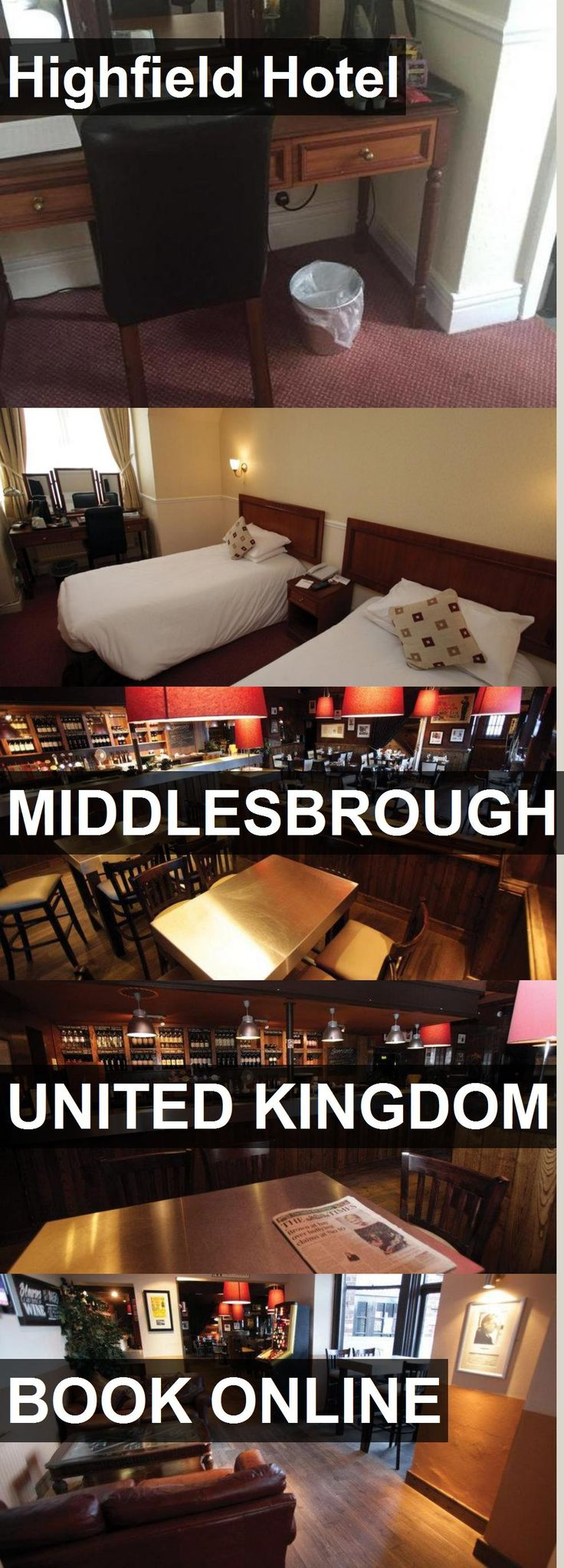 Highfield Hotel in Middlesbrough, United Kingdom. For more information, photos, reviews and best prices please follow the link. #UnitedKingdom #Middlesbrough #travel #vacation #hotel