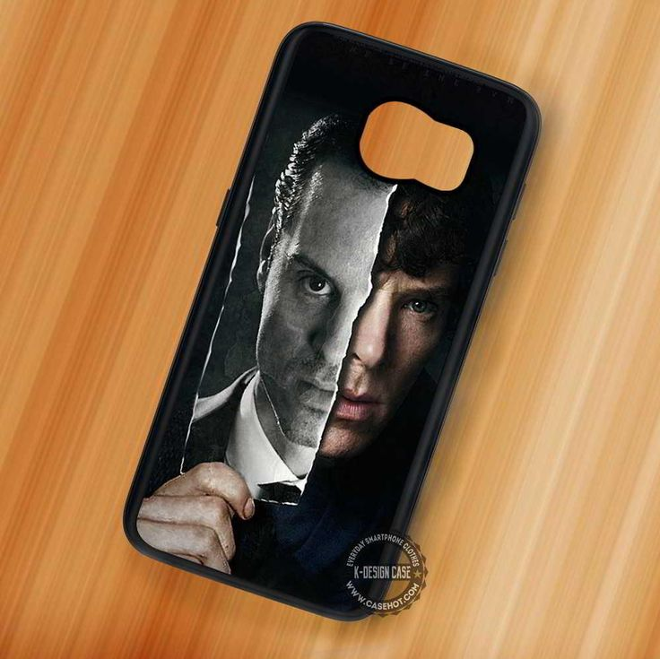 Double Sides Sherlock Holmes John Watson - Samsung Galaxy S7 S6 S5 Note 7 Cases & Covers