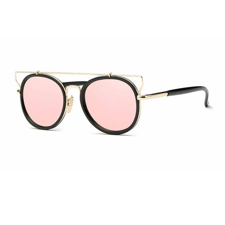 Newest UV400 Mirror Sun Glasses Women Driving Fashion Designer Brand Female Sunglasses Eyewear Women Pilot 2017 Shades