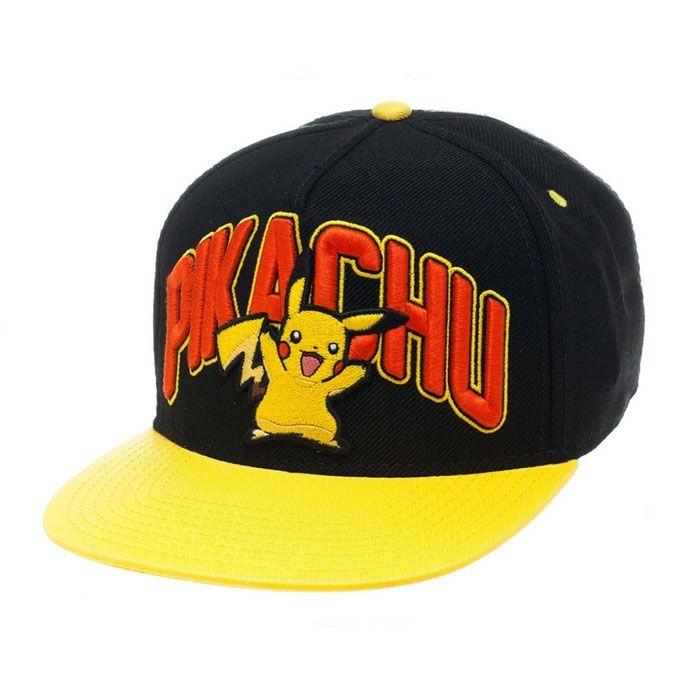 Pokemon: Pikachu Snap Back Cap