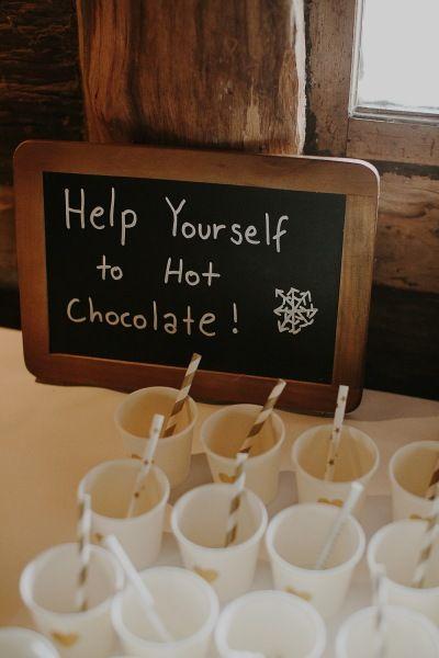 Hot chocolate station Suzanne & Jeng Wedding styling by Make Your Day makeyourdayweddingstyling.com.au
