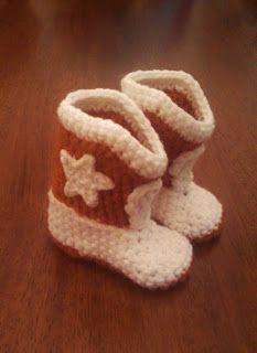 Cowboy Boots-free pattern