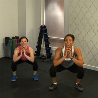 Tabata Mashup Workout with Cross Fit trainer Shirley Brown. @fitsugar