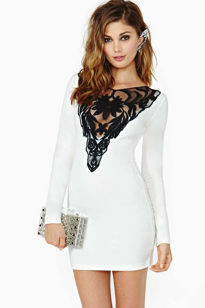 Bacherlorette party dress? yessss. Nasty Gal French Love Dress