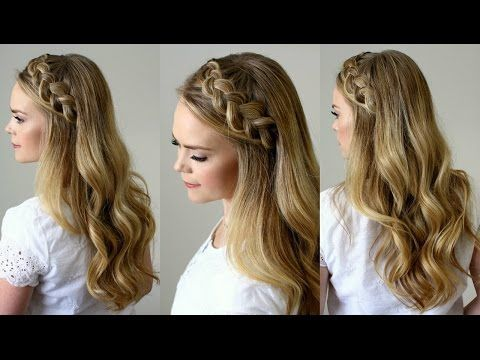 Dutch Headband Braid Tutorial | Missy Sue - YouTube