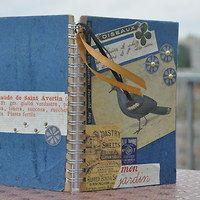 Notebook with a blue bird / Zboží   Fler.cz