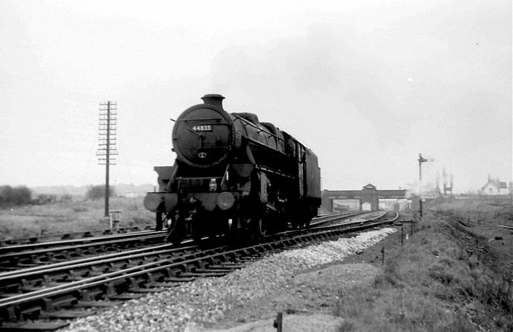 44833 at Bulwell Common 30th april 1965. Photo by Chris Ward