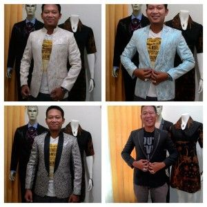 blazer exclusive untuk fashion show